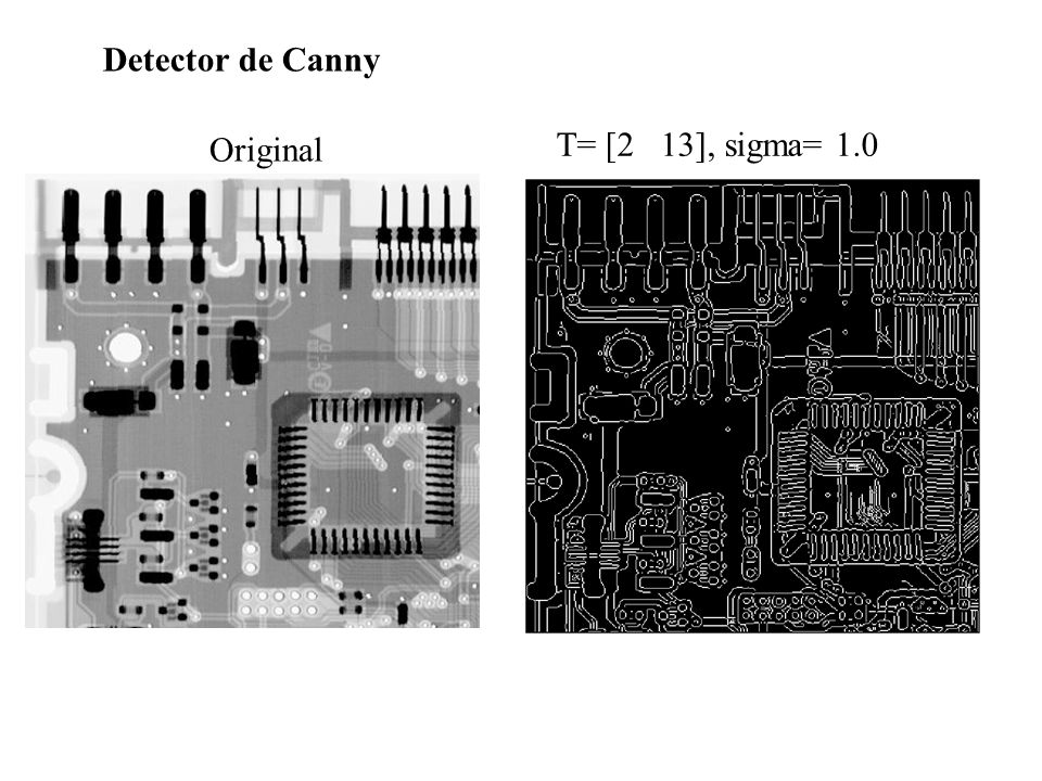 Detector de Canny Original T= [2 13], sigma= 1.0